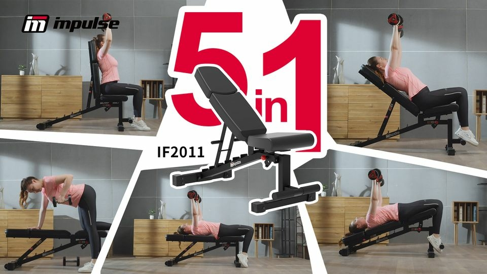 Impulse IF2011 állítható pad sokoldalú fitness eszköz